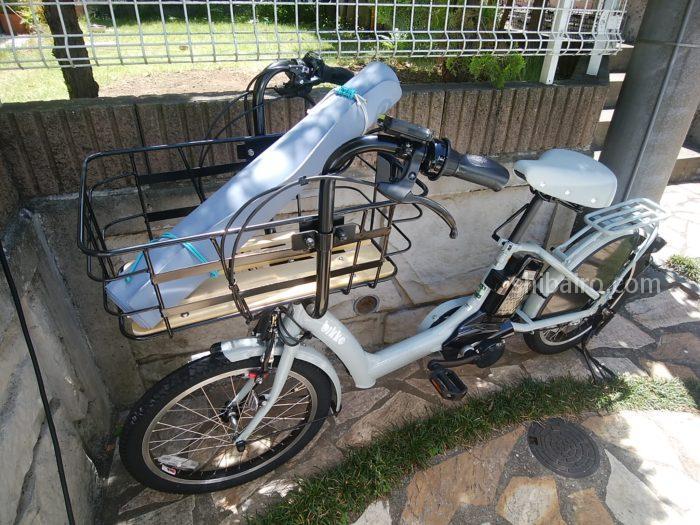 大容量電動アシスト自転車