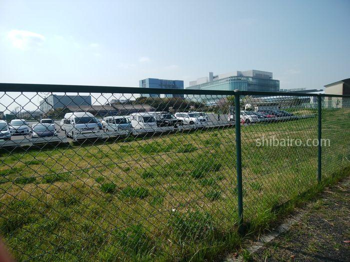 青海西臨時駐車場