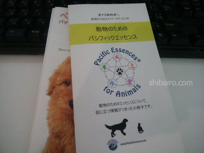 動物のためのパシフィックエッセンス