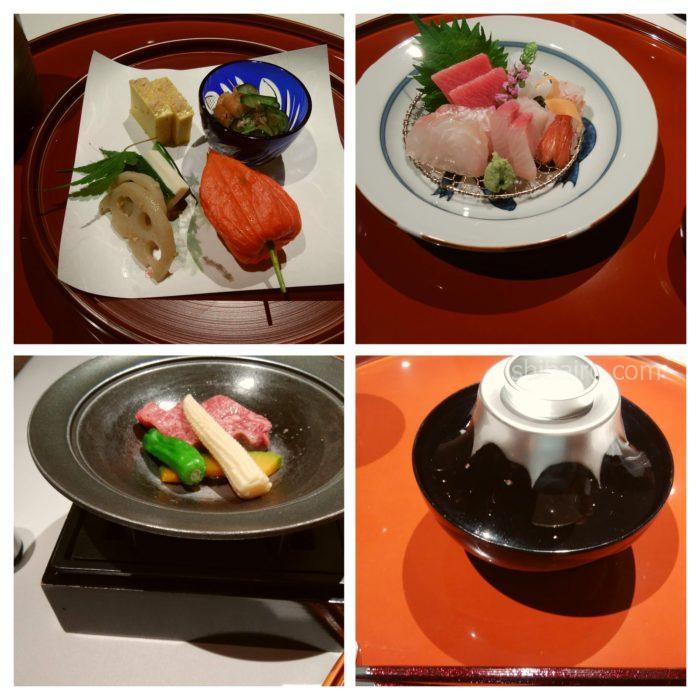 レジーナリゾート富士のディナー
